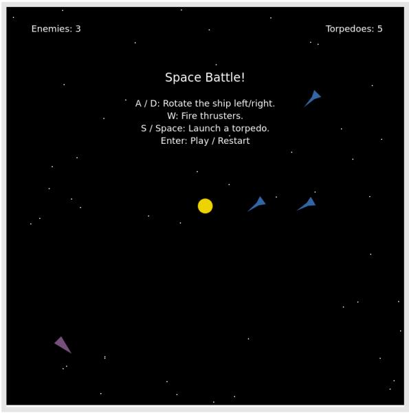 A screenshot of my game.